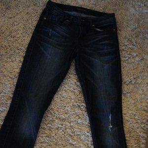 Guess Skinny Leg Distressed Jeans